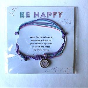 Happy Planner Be Happy Pastel Heart Slide Bracelet
